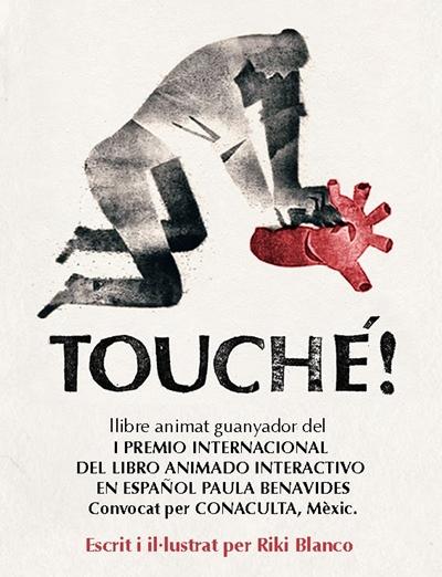 Touche! un libro animado e interactivo - touche-riki-blanco