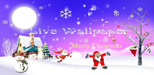 Colección de Live Wallpapers navideños para Android - white-christmas-live-wallpaper