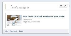 Cuidado con las herramientas para regresar al viejo muro de Facebook