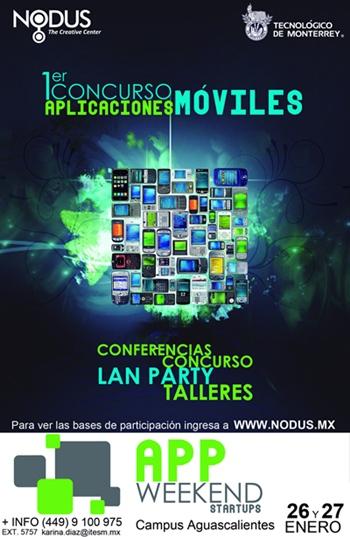 App Weekend, concurso de aplicaciones móviles en Aguascalientes - app-weekend-2012