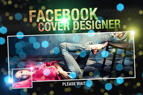 Crea la portada de tu biografía con Facebook Cover Designer para iPhone - facebook-cover-designer