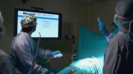 Kinect para Windows [CES 2012] - kinect-hospital