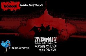 Zombie Walk Mérida 2012, la marcha zombie de nuevo en el sureste mexicano