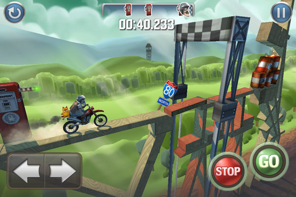 Bike Baron para iPhone/iPod/iPad [Reseña] - Bike-baron