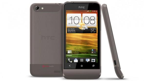 HTC presenta su nueva línea de smartphones 2012 - HTC-One-V-590x332