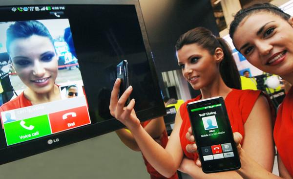 LG presenta el primer convertidor en el mundo de voz a video en el MWC - LG_MWC2012
