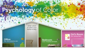 La Psicología del color en una infografía