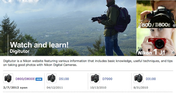 Aprende a usar tu cámara Nikon con un curso en línea - curso-en-linea-nikon-digitutor