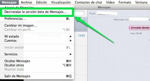 Como desinstalar la versión beta de Messages e instalar iChat de nuevo [Mac] - desinstalar-messages-instalar-ichat