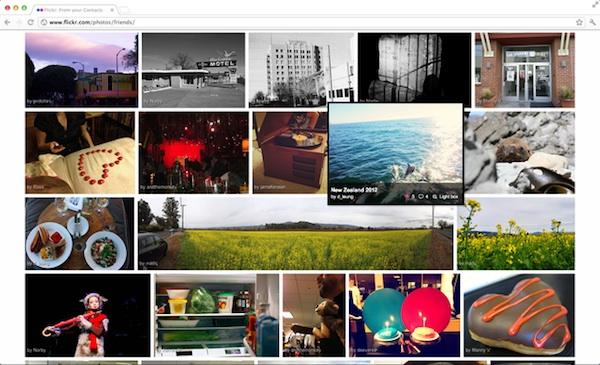 flickr interfaz nueva 1 Flickr renovará su interfaz muy pronto