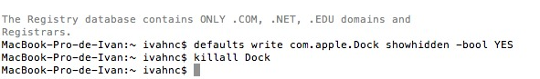 hacer transparente iconos dock Como hacer transparentes los iconos de las aplicaciones ocultas en el Dock de Mac