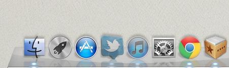 Como hacer transparentes los iconos de las aplicaciones ocultas en el Dock de Mac - iconos-transparentes-dock