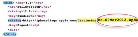 iOS 5.1 podría llegar el próximo 9 de marzo - ios51update