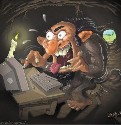 Persiguiendo a un Troll de Internet [Video] - main-troll