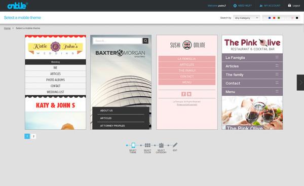 Onbile, un nuevo servicio para adaptar páginas web a móviles - onbile-paginas-web-moviles