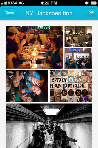 pikhub movil fotos Comparte las fotos de un evento social desde el iPhone con Pikhub