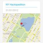 Comparte las fotos de un evento social desde el iPhone con Pikhub - pikhub-movil-mapa