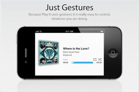 Play It, un reproductor de música un poco diferente en tu iPhone o iPad [Reseña] - play-it-app