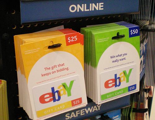 tarjetas ebay Supuestas tarjetas de regalo de ebay, usadas para nuevas estafas en redes sociales