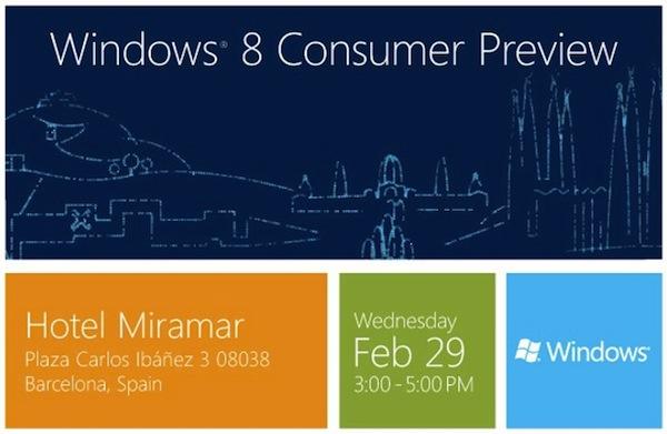 Windows 8 Consumer Preview estará disponible el 29 de febrero - windows-8-consumer-preview