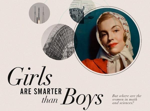 Las mujeres son más inteligentes que los hombres [Infografía] - Mujeres-mas-inteligentes