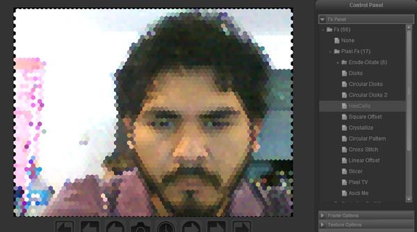 Toma fotos con tu webcam y aplícale efectos con Fabcam - fabcam-fotos