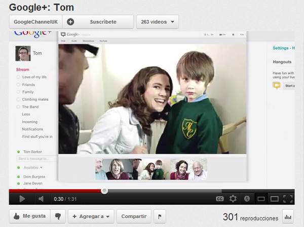 Google trata de darle vida a Google+ con buenos comerciales de TV - google+