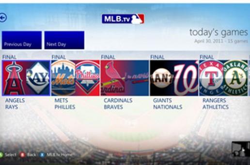 La MLB llega en forma de aplicación para Xbox 360