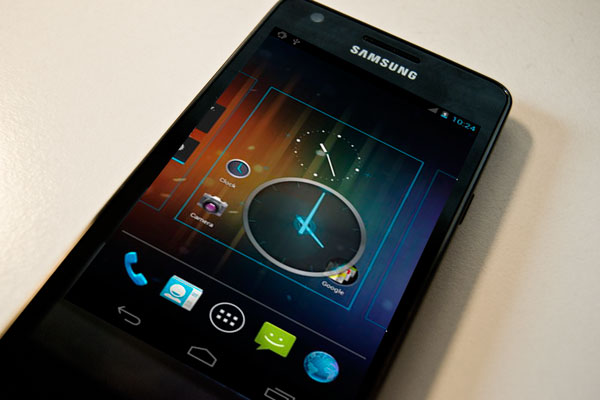 samsung galaxy s2 android 4 Samsung Galaxy SII empieza a ser actualizado a Android Ice Cream Sandwich