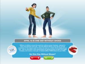 Celebra el Día sin Zapatos con The Sims Free