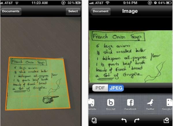 Escanear una hoja desde tu iPhone con Genius Scan - Genius-Scan-iPhone
