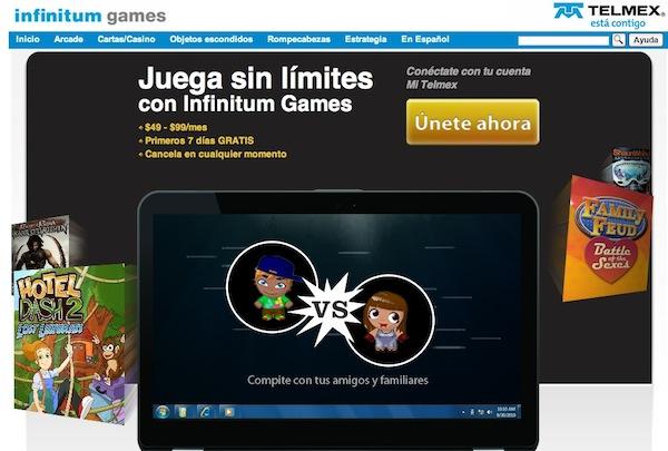 Infinitum Games, la nueva tienda de videojuegos de Telmex - Infinitum-games