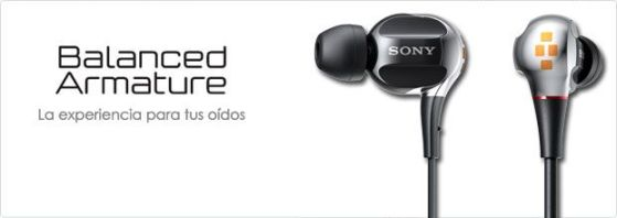 XBA sony audifonos Sony ha presentado su nueva línea de auriculares XBA
