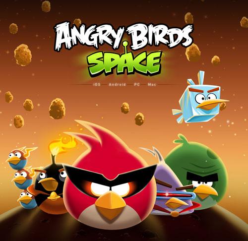 angryBirdsSpace Rovio logra 50 millones de descargas de Angry Birds Space en 35 días