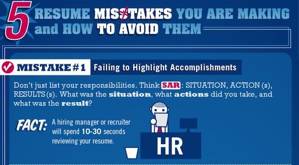 Errores que no debes cometer al hacer tu curriculum [Infografía] - errores-hacer-curriculo-2