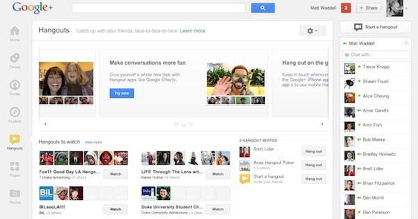 g plus Nueva interfaz de Google+ es presentada