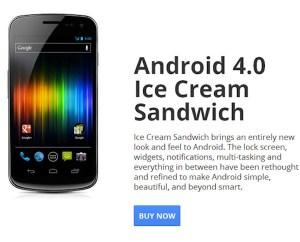 Samsung Galaxy Nexus debloqueado en venta oficialmente desde Google Play