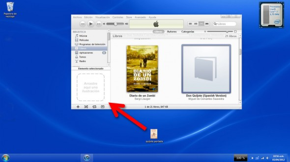 Cómo cambiar la portada de nuestros libros en iBooks - libros-portada-itunes-590x331