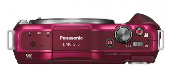 Panasonic presenta la nueva cámara Lumix GF5 - lumix-gf5-body-590x271