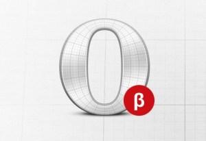 Opera 12 beta disponible