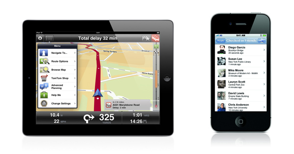 TomTom presenta su nueva actualización para iPhone y iPad - tomtom-gps-iphone-ipad