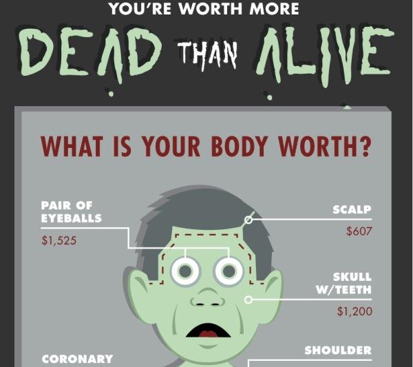 Eres mas valioso muerto que vivo [Infografía] - trafico-organos.infografia