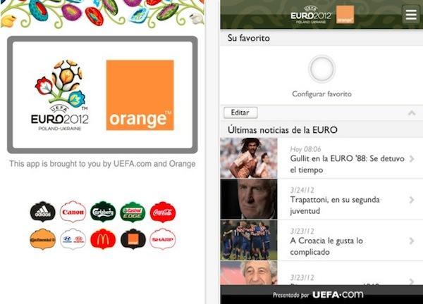 Sigue la Eurocopa 2012 desde tu smartphone - uefa-euro-2012-app