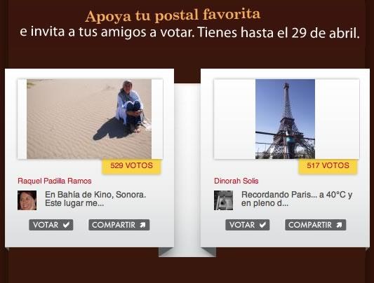 """Vota por la mejor """"Postal de mi mundo"""" de American Express - votar-postales-mi-mundo"""