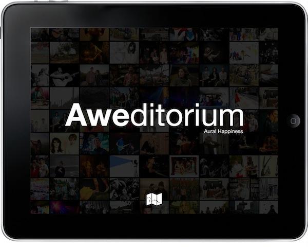 Descubrir nueva música con Aweditorium para iPad - Aweditorium1