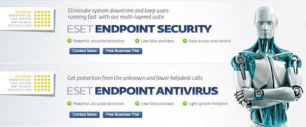 ESET presenta sus aplicaciones de seguridad para oficinas Endpoint Security y Endpoint Antivirus - ESET-aplicaciones-empresariales