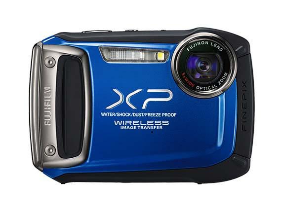 Cámara Fujifilm Finepix XP170 inalámbrica y contra agua es presentada oficialmente - Finepix-xp170