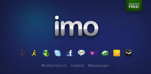 Abrir messenger desde el celular - Imo-conectarse-messenger