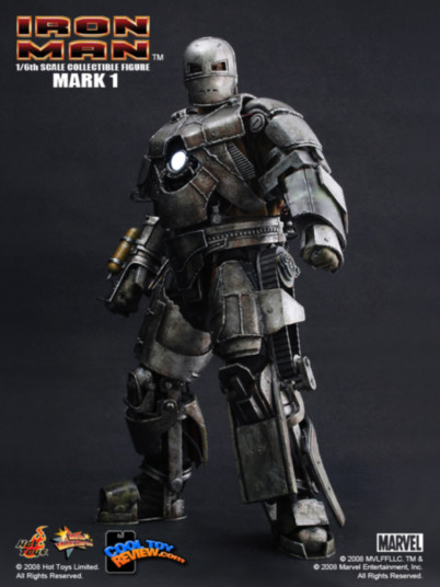 Las armaduras de Iron Man desde la Mark I hasta la Mark VII de The Avengers - Iron-Man-Mark-I