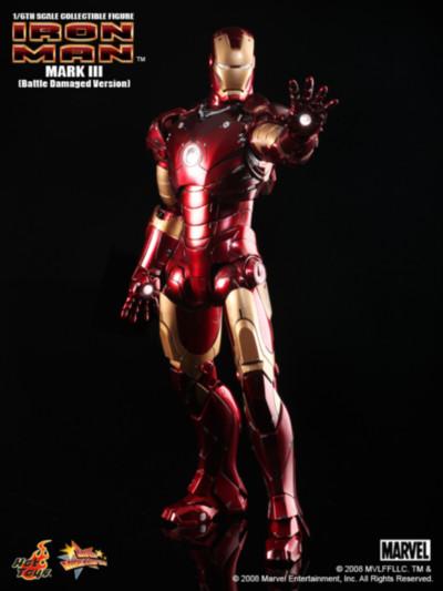Iron Man Mark III Las armaduras de Iron Man desde la Mark I hasta la Mark VII de The Avengers